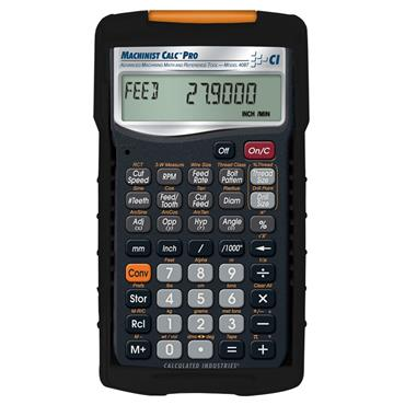 Calculates Industries 4087 Machinist/Engineering Calc Pro Calculator
