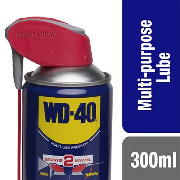 WD-40 Smart Straw 300ml Aerosol Lubricant