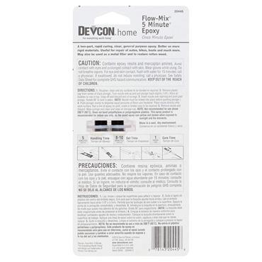Devcon 20445 14ml 5 Minute Epoxy Clear Flow-Mix Glue