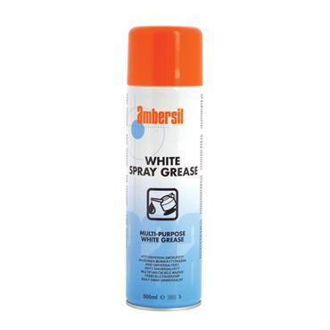 Ambersil 31617-AA 500ml Multi-Purpose White Spray Grease