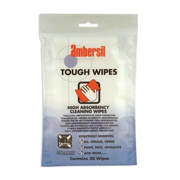 AMBERSIL Tough Wipes Pack of 30