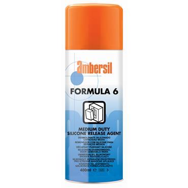 Ambersil Formula 6 400ml Medium-Duty Silicone Release Agent