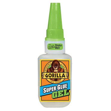 Gorilla 7600105 15ml Clear Super Glue Gel
