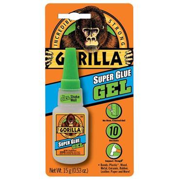 Gorilla 4044401 15ml Clear Super Glue Gel