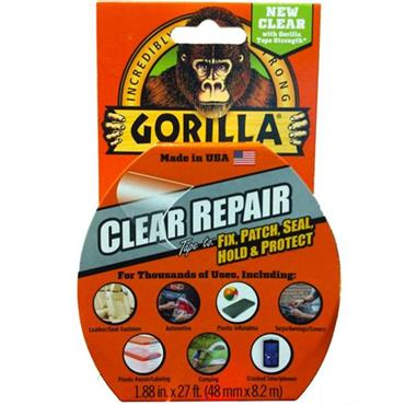 GORILLA GLUE 602701 Clear Repair Tape