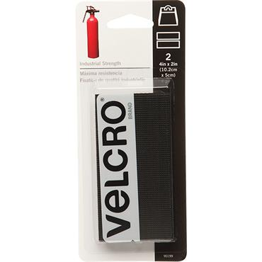 VELCRO® BRAND  Industrial StrengthStrips (2 Pack) 4 in. X 2 in. 90199