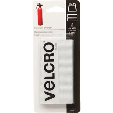 VELCRO® BRAND Industrial Strength Strips (2 Pack) 4 in. X 2 in.  90200