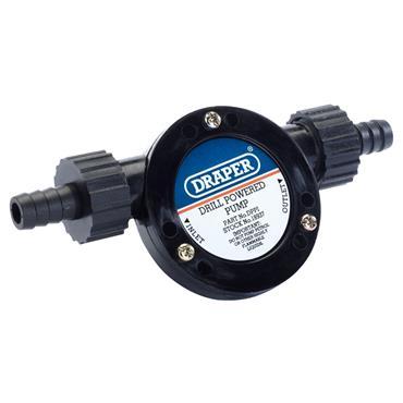 Draper DR18937 Drill Powered Pump, 16.6 Litre/Minute
