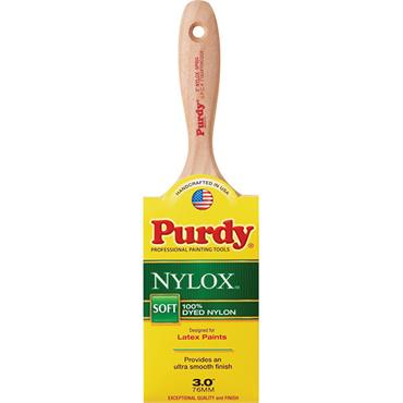 PURDY Nylox-Sprig 3 In. Flat Trim Soft Paint Brush