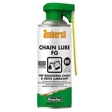 Ambersil 30245 400ml Perma-Lock Food Grade Chain Lubricant