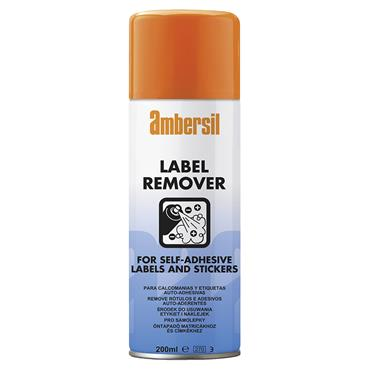 Ambersil 31629 200ml Self-Adhesive Label And Sticker Remover