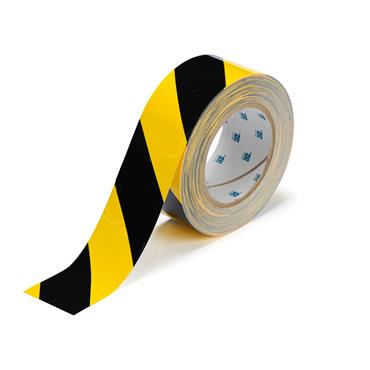 Brady ToughStripe 30m Black and Yellow Floor Marking Tape