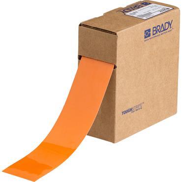Brady ToughStripe 30m Orange Floor Marking Tape