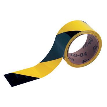 Brady 30m Warning Stripe and Check Tape