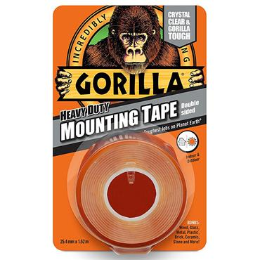 Gorilla Heavy Duty Mounting Tape - 1.5m