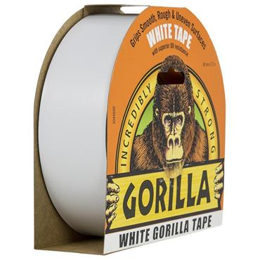 Gorilla White Super Strength Adhesive Tape - 48mm