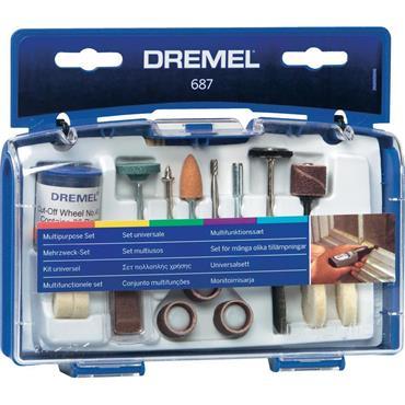 DREMEL D687-01 52 Packs Multipurpose Set