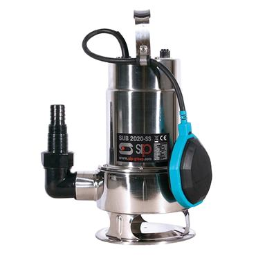 Sip 6189 240 Volt Submersible Dirty Water Pump, 233 Litre/Minute