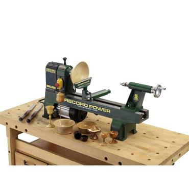 RECORD POWER DML305 Cast Iron Midi Lathe
