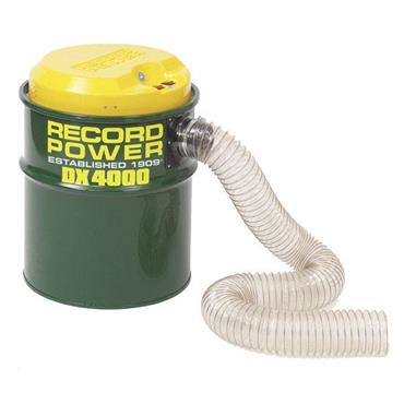 Record Power DX4000 240 Volt Fine Filter Twin Motor 80 Litre Extractor