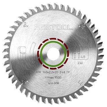 Festool 160 x 20 x 48T, Special Saw Blade - 496308