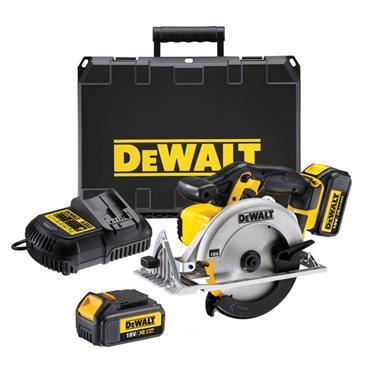 DeWALT DCS391M2 18 Volt XR Lithium-ion Cordless Circular Saw, 2 x 4.0Ah Batteries