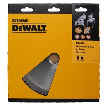 DeWALT 216 x 30 x 60T, Extreme Circular Saw Blade - DT4350