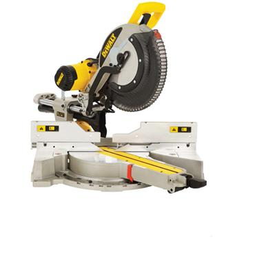 DeWALT DWS780 305mm Compound Slide Mitre Saw with DE7023 Legstand