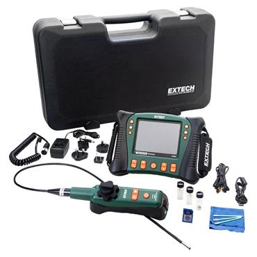 Extech HDV640W HD VideoScope Kit with Monitor and Wireless Articulating Probe