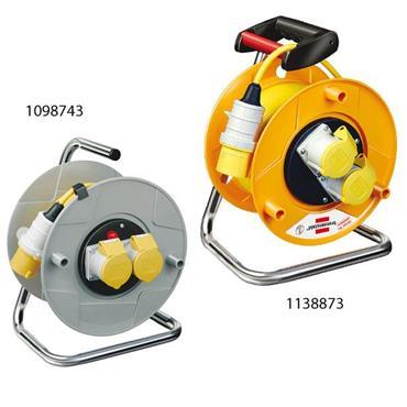 Brennenstuhl 110 Volt Garant 2-Way Socket Cable Reel