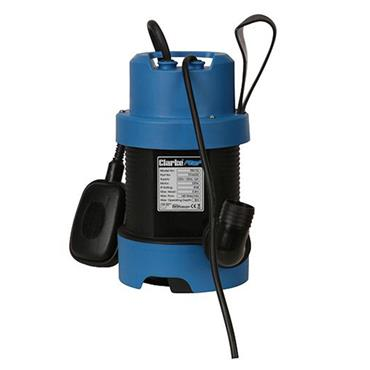 Clarke PSV1A 240 Volt Submersible Dirty Water Pump, 140 Litre/Minute