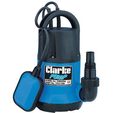 Clarke CSE400A 240 Volt Submersible Water Pump, 115 Litre/Minute