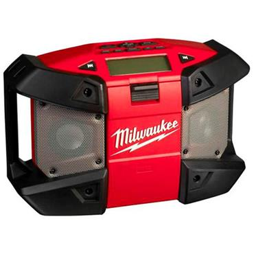 Milwaukee C12JSR-0 M12 Sub Compact Radio with MP3 Player Connection