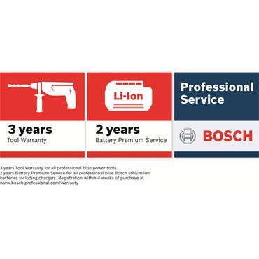Bosch GWS18V-LI 115mm 18 Volt  Professional Cordless Angle Grinder, 2 x 5.0Ah Batteries