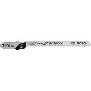 Bosch T101AO 5 Piece Wood Jigsaw Blade