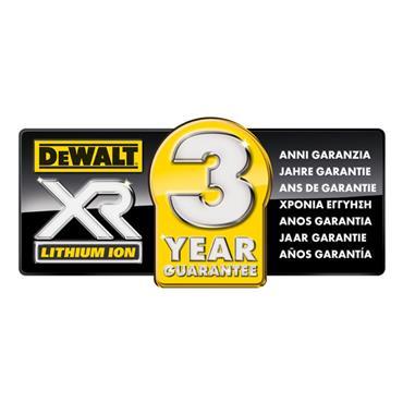 DeWALT DCG412M2 125mm 18 Volt XR Lithium-Ion Angle Grinder, 2 x 4.0Ah Batteries