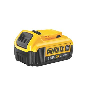 DeWALT DCB182-XJ 18 Volt XR Lithium-Ion Battery Pack, 1 x 4.0Ah Batteries