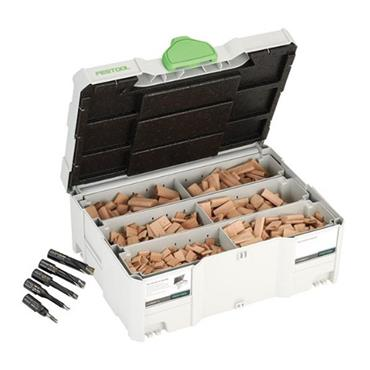 Festool 498899 Assorted Domino Beech Tenons And Cutters