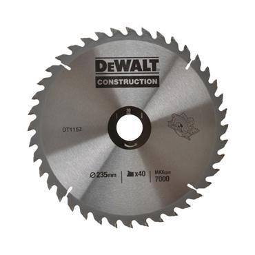 DeWALT 235 x 30 x 40T, Extreme Plunge Saw Blade - D1157-QZ