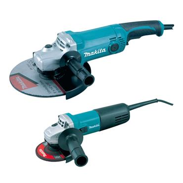 Makita DK0056 115mm & 230mm Angle Grinder Twin Pack