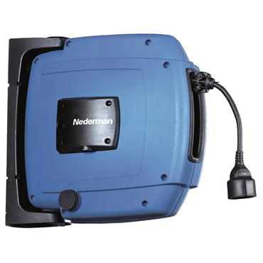 Nederman 30700230 240 Volt 17m Retractable Power Cable Reel