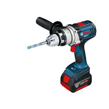 Bosch GSB18VE2LIRS 18 Volt Robust Combi Drill, 2 x 4.0Ah Batteries