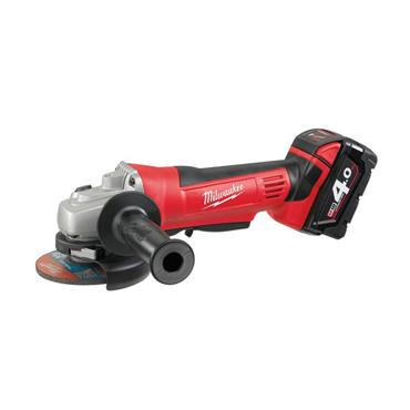 Milwaukee HD18AG402 115mm 18 Volt M18 Li-Ion Cordless Angle Grinder, 2 x 4.0Ah Batteries