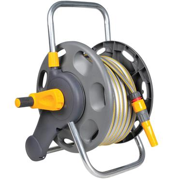 Hozelock 2431 45m Capacity Assembled Hose Reel with 25m Hose