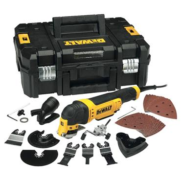 DeWALT DWE315KT Oscillating Multi-Cutter in TStak Case with 37 Accessories