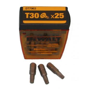 DeWALT DT7963 25mm Torx T30 Screwdriver Bits