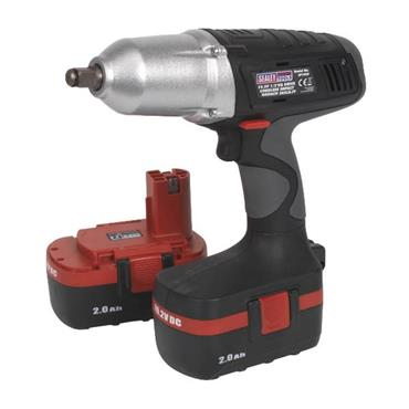"Sealey CP1950 19.2 Volt Cordless 1/2"" Impact Wrench, 2 x 2.0Ah Batteries"