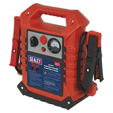 Sealey RS125 12/24 Volt RoadStart Emergency Jump Starter