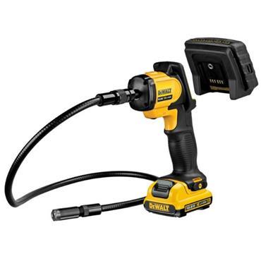 DeWALT DCT410D1 12V XR Li-Ion 17mm Cable Inspection Camera Kit, 1 x 2.0Ah Batteries