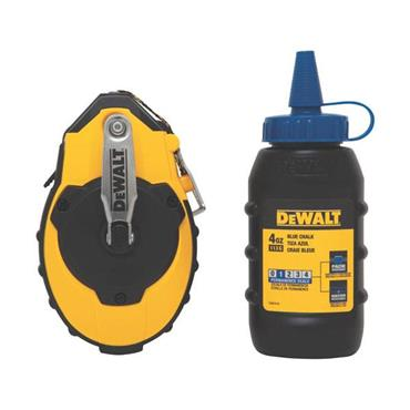 DeWALT DWHT47143 30m Reel Kit with Blue Chalk